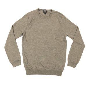 J. Crew slim tan sweater men's size medium